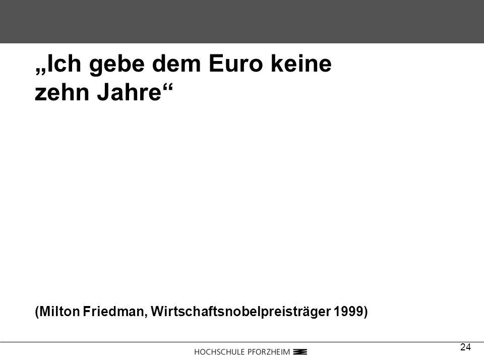 """""""Ich gebe dem Euro keine zehn Jahre"""