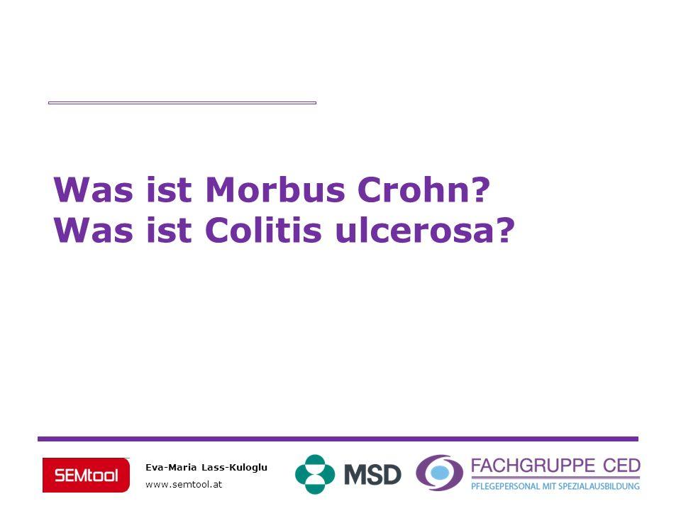 Was ist Morbus Crohn Was ist Colitis ulcerosa