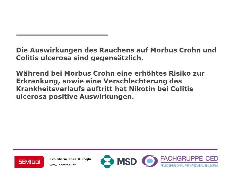 Die Auswirkungen des Rauchens auf Morbus Crohn und Colitis ulcerosa sind gegensätzlich.