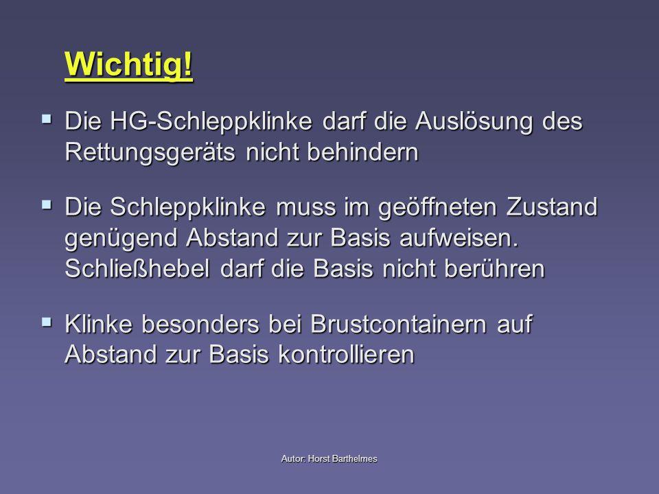 Autor: Horst Barthelmes