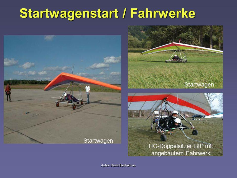 Startwagenstart / Fahrwerke