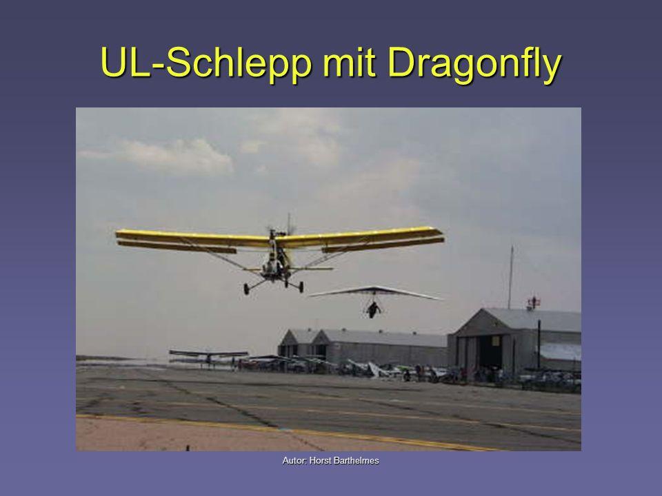 UL-Schlepp mit Dragonfly