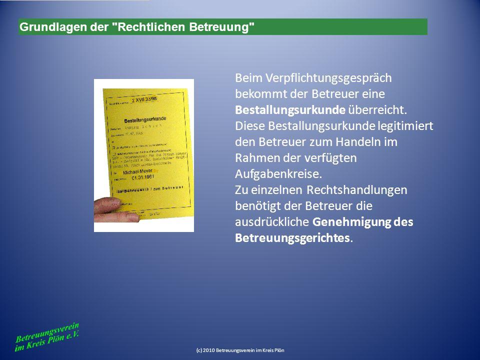 (c) 2010 Betreuungsverein im Kreis Plön