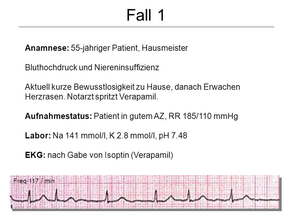 Fall 1 Anamnese: 55-jähriger Patient, Hausmeister