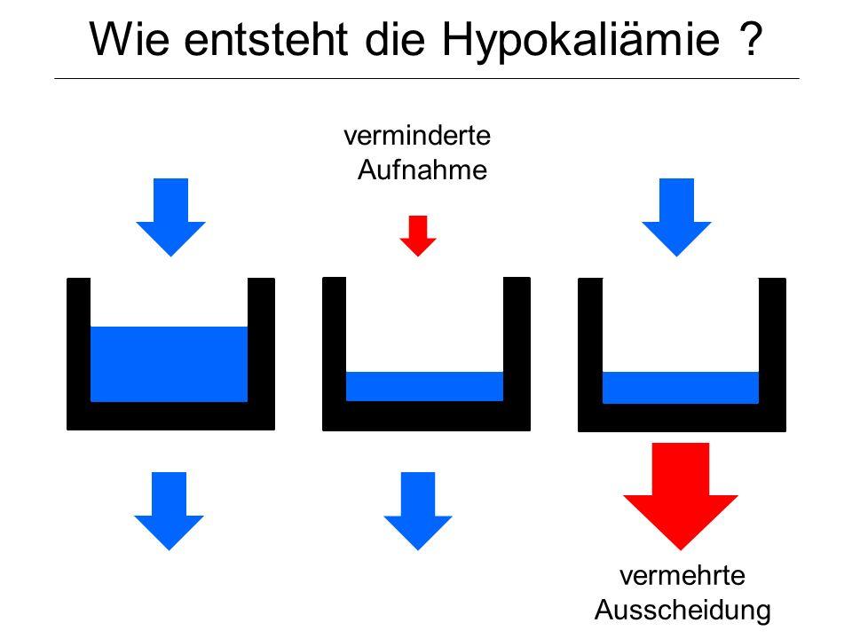 Wie entsteht die Hypokaliämie