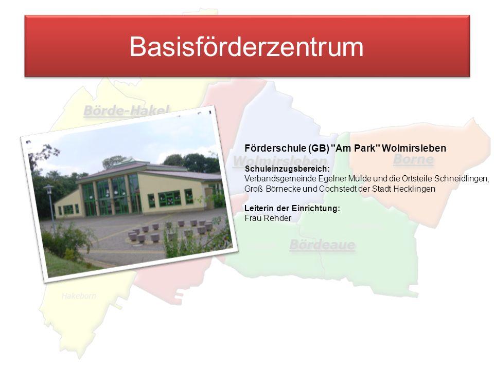 Basisförderzentrum Förderschule (GB) Am Park Wolmirsleben