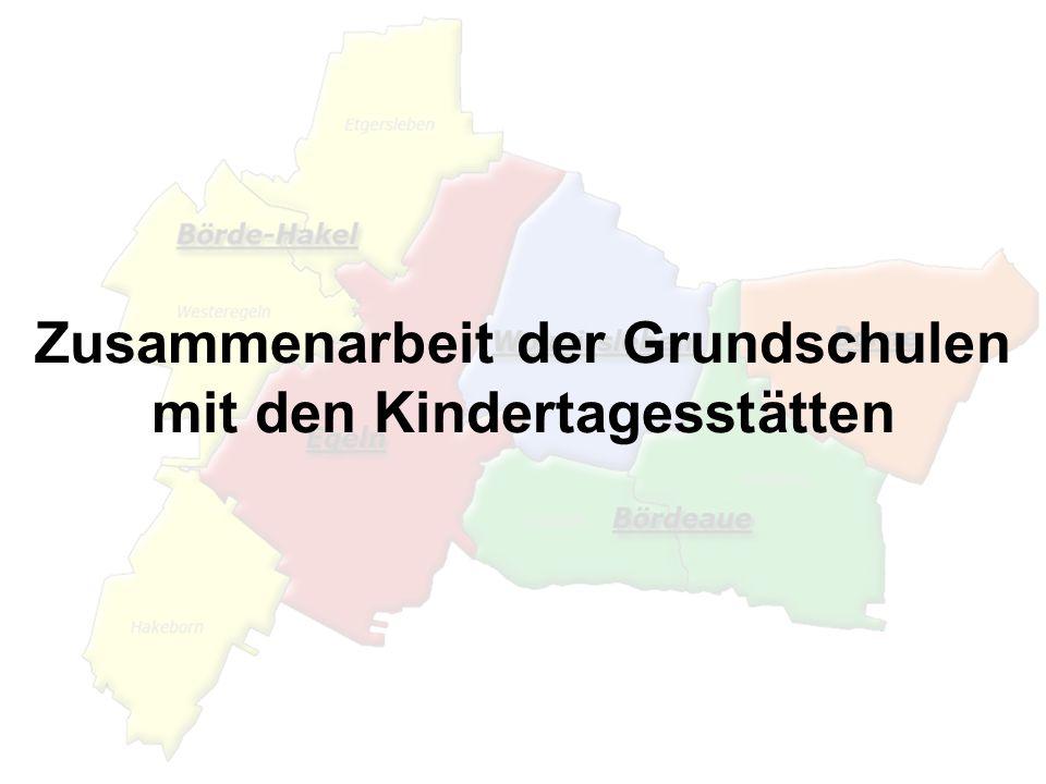 Zusammenarbeit der Grundschulen mit den Kindertagesstätten