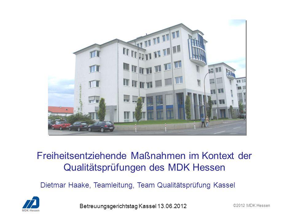 Dietmar Haake, Teamleitung, Team Qualitätsprüfung Kassel