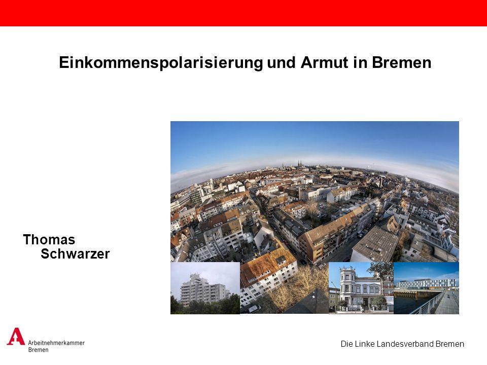 Einkommenspolarisierung und Armut in Bremen