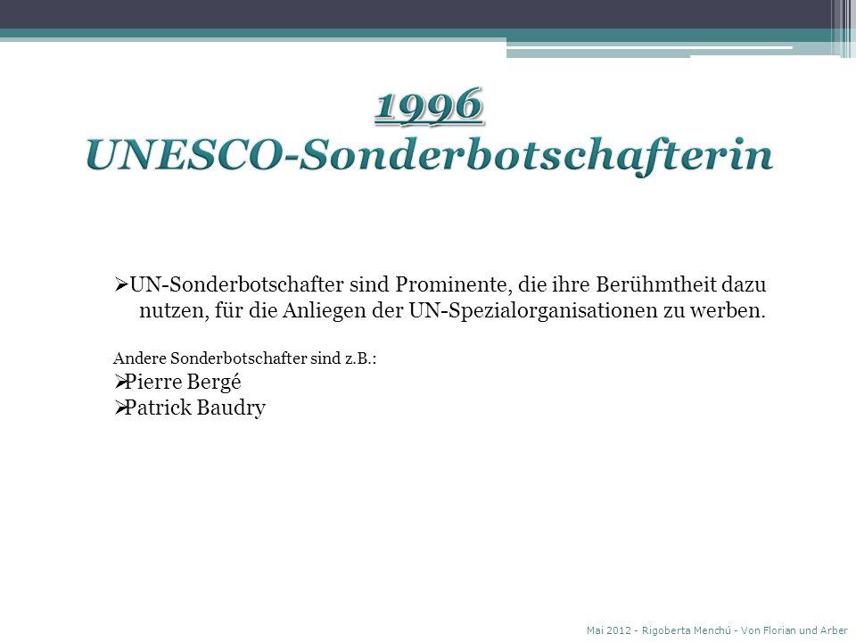 UNESCO-Sonderbotschafterin