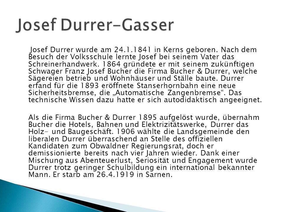Josef Durrer-Gasser