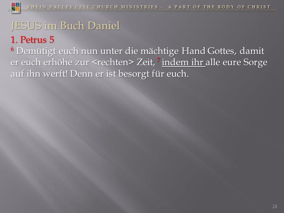 JESUS im Buch Daniel 1. Petrus 5