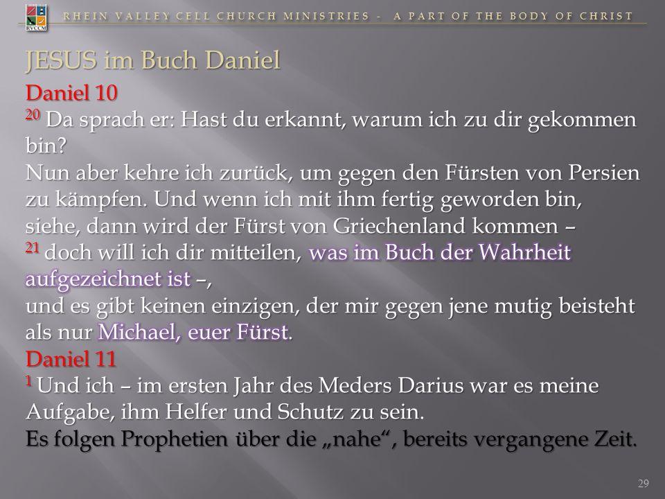 JESUS im Buch Daniel Daniel 10