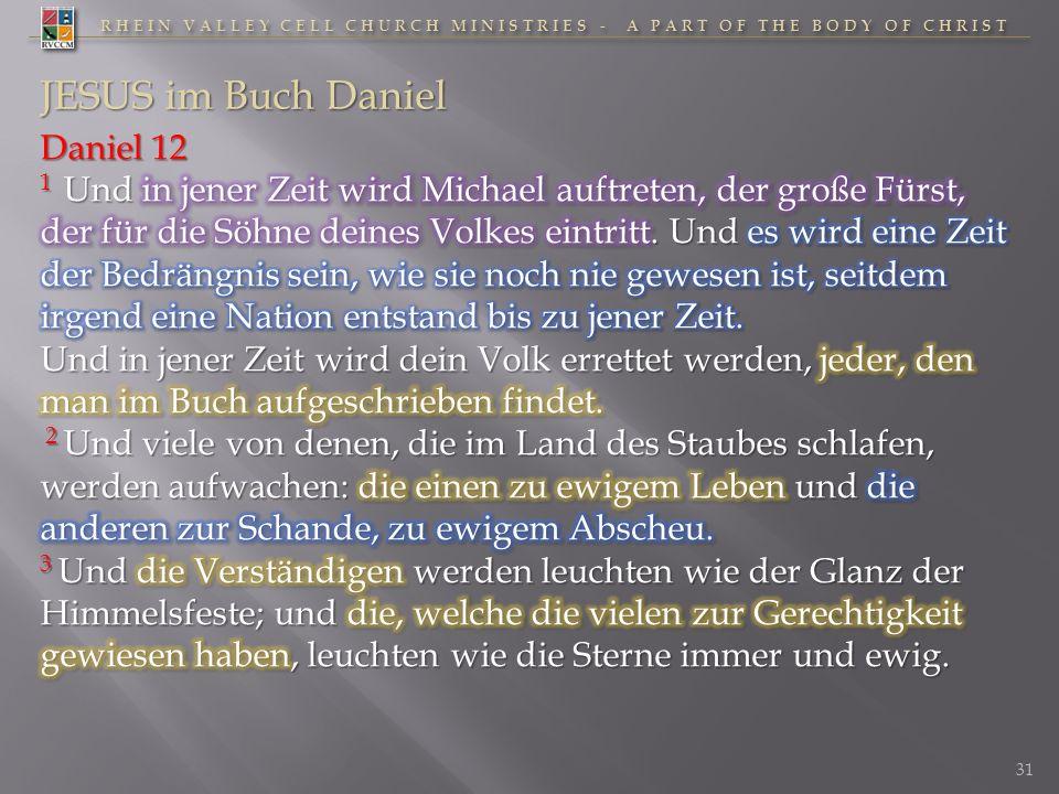 JESUS im Buch Daniel Daniel 12