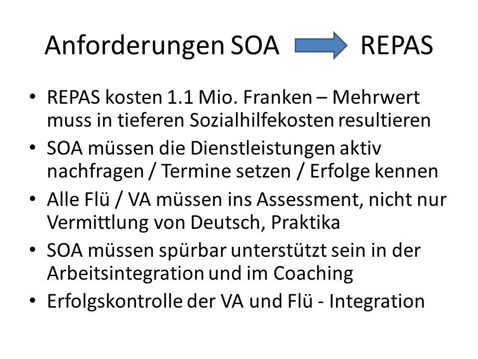 Anforderungen SOA REPAS