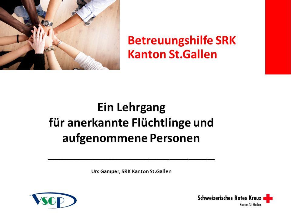 Betreuungshilfe SRK Kanton St.Gallen