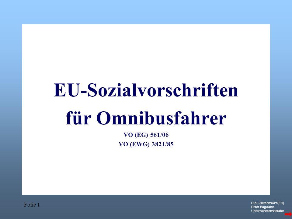 EU-Sozialvorschriften