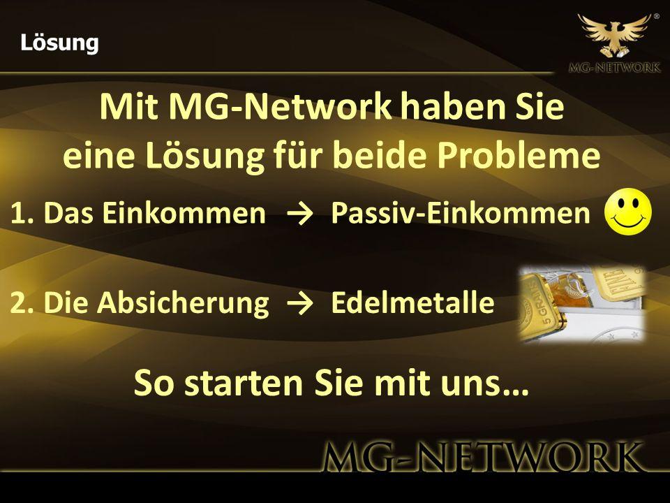 Mit MG-Network haben Sie eine Lösung für beide Probleme