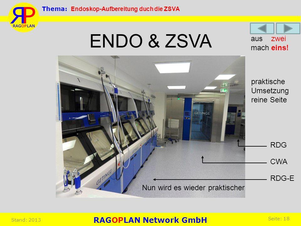 ENDO & ZSVA aus zwei mach eins! praktische Umsetzung reine Seite RDG