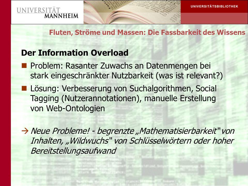 Der Information Overload