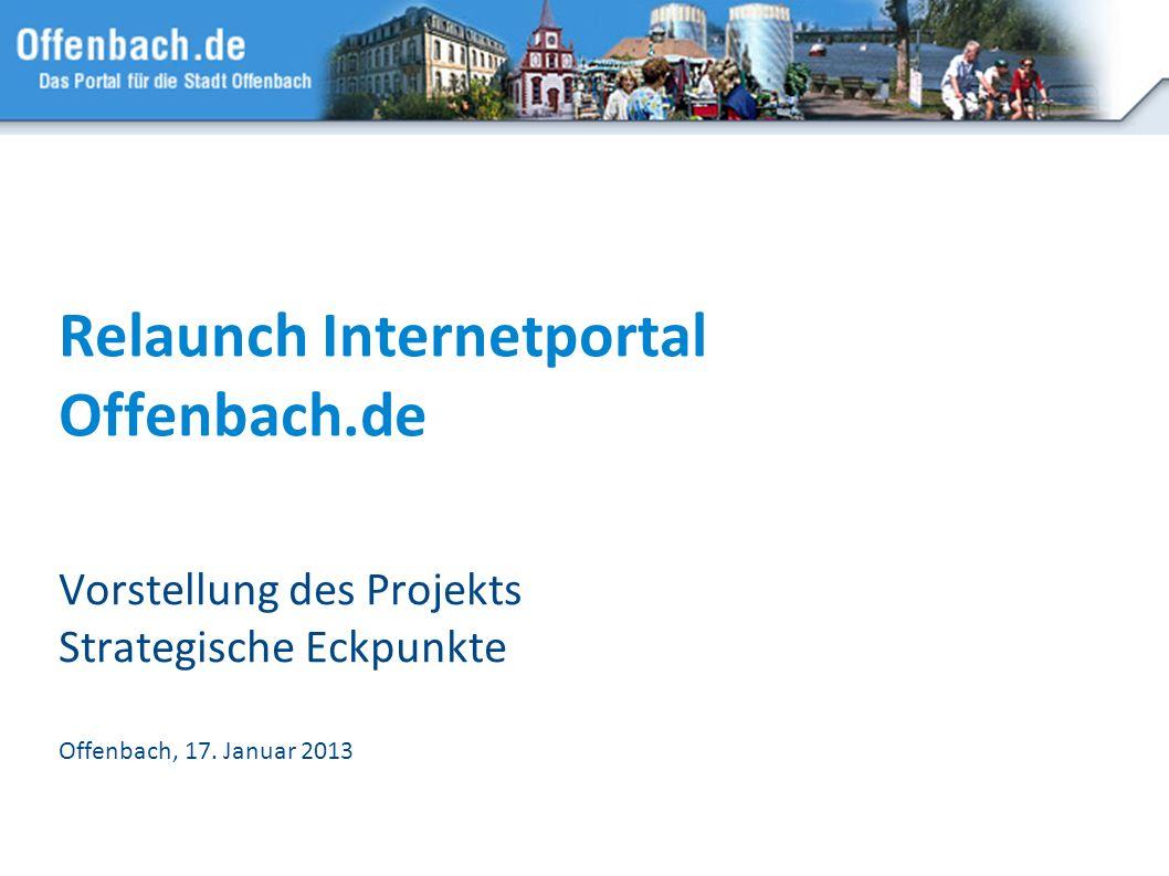 Relaunch Internetportal Offenbach.de