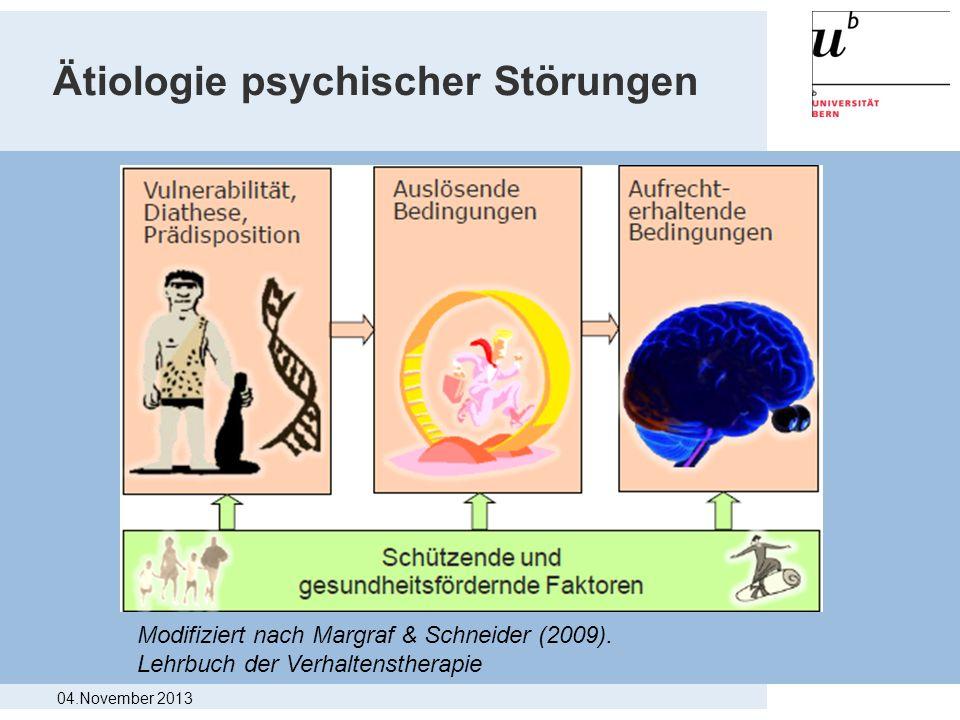 Ätiologie psychischer Störungen