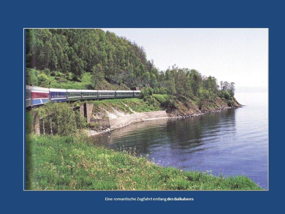 Eine romantische Zugfahrt entlang des Baikalsees