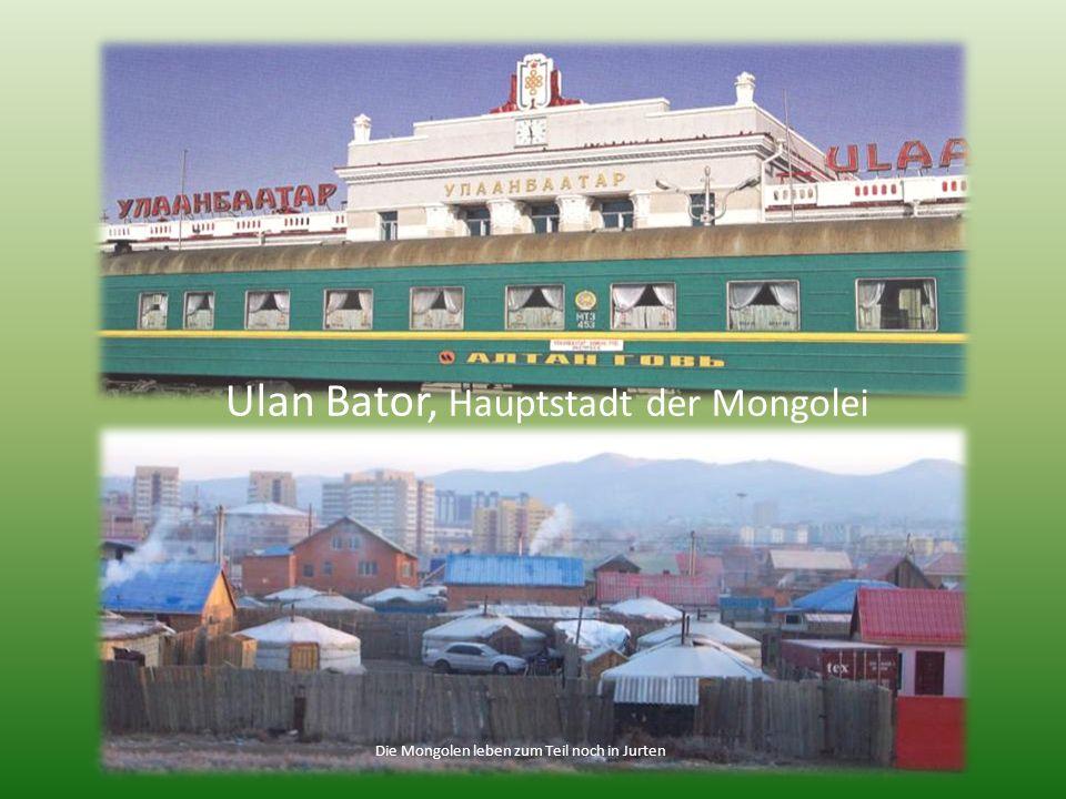 Ulan Bator, Hauptstadt der Mongolei
