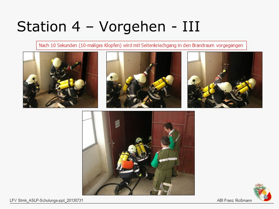 Station 4 – Vorgehen - III