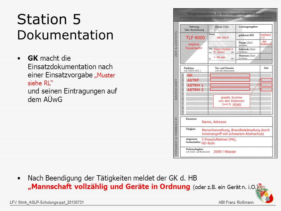 Station 5 Dokumentation