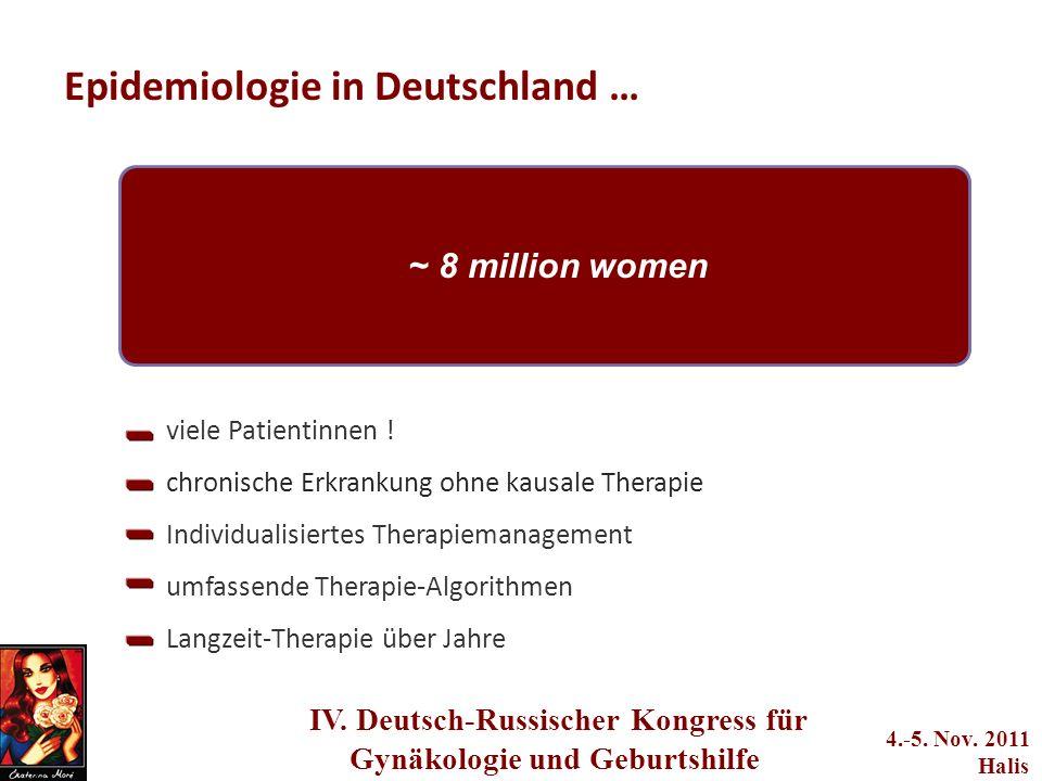 Epidemiologie in Deutschland …