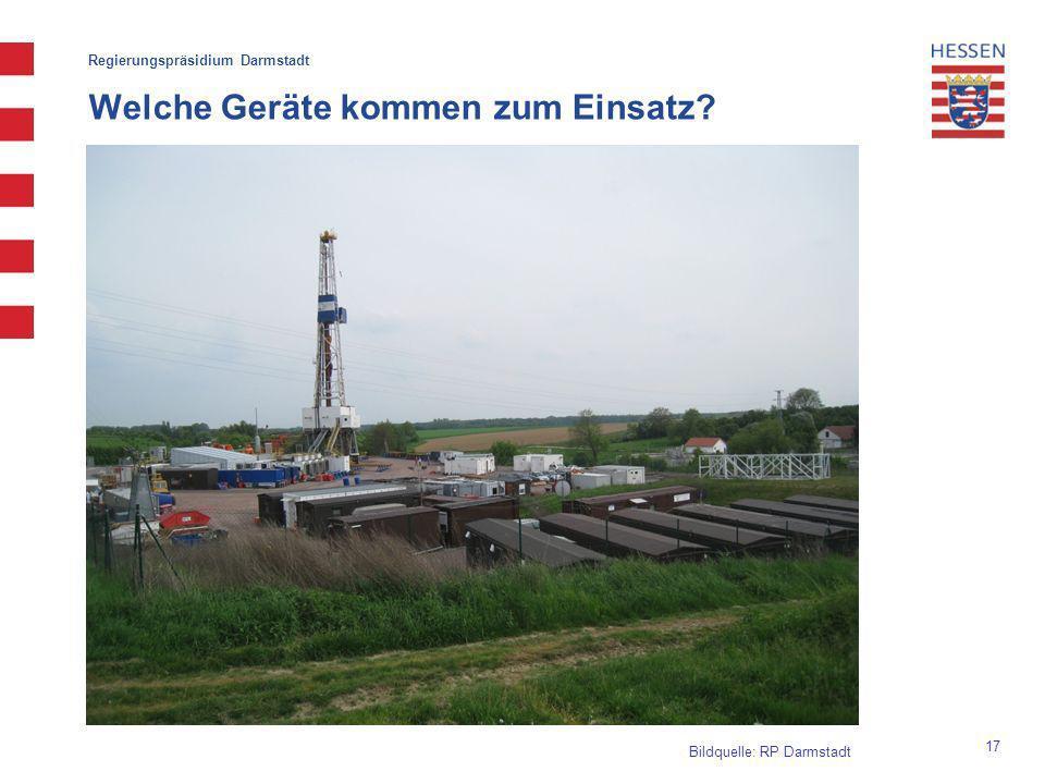 Regierungspräsidium Darmstadt Welche Geräte kommen zum Einsatz