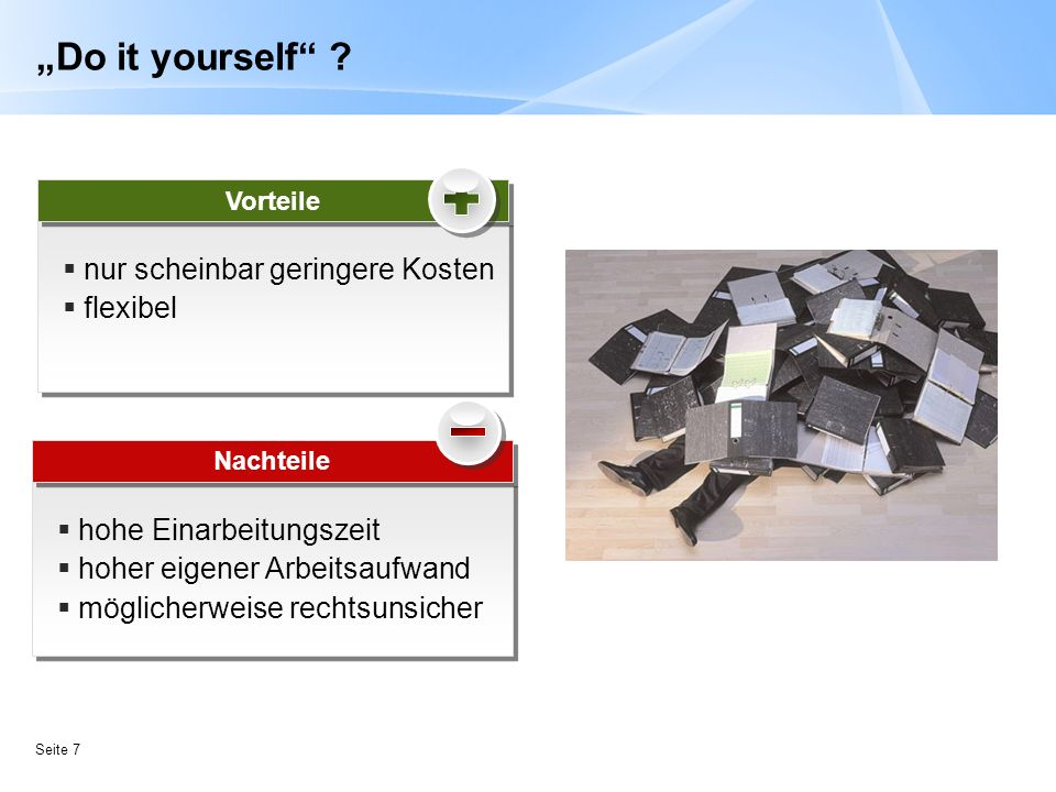 """Do it yourself nur scheinbar geringere Kosten flexibel"