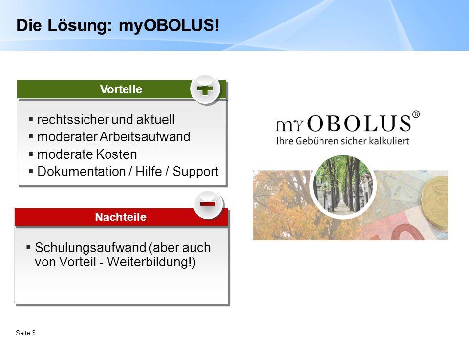 Die Lösung: myOBOLUS! rechtssicher und aktuell