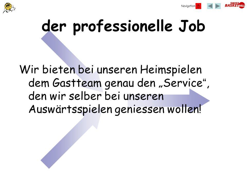 der professionelle Job