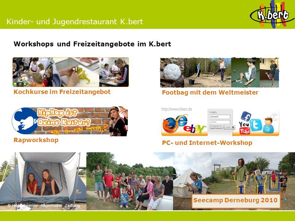 Workshops und Freizeitangebote im K.bert
