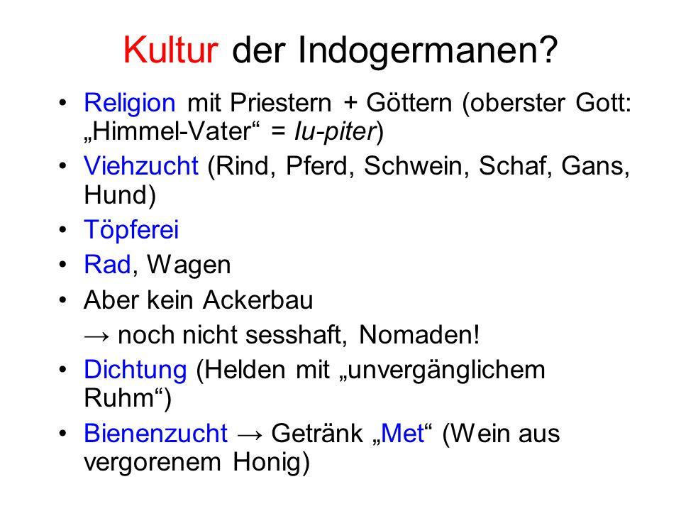 Kultur der Indogermanen