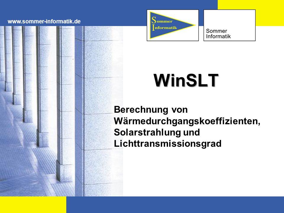 www.sommer-informatik.de WinSLT.