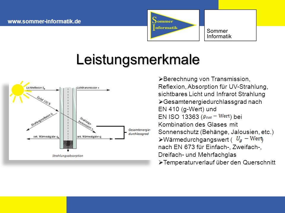 www.sommer-informatik.de Leistungsmerkmale.