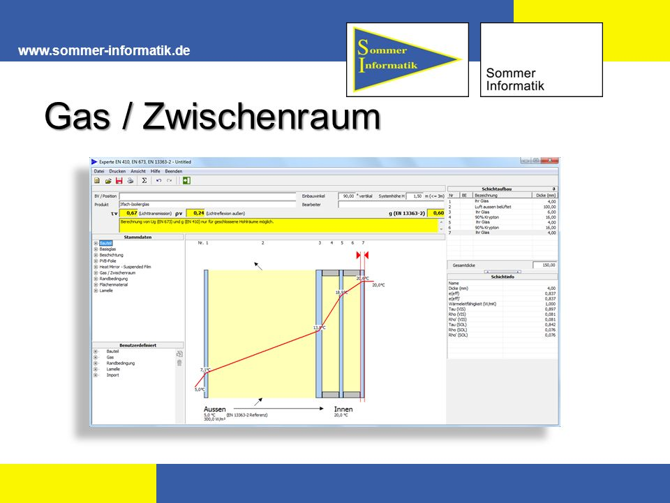 www.sommer-informatik.de Gas / Zwischenraum