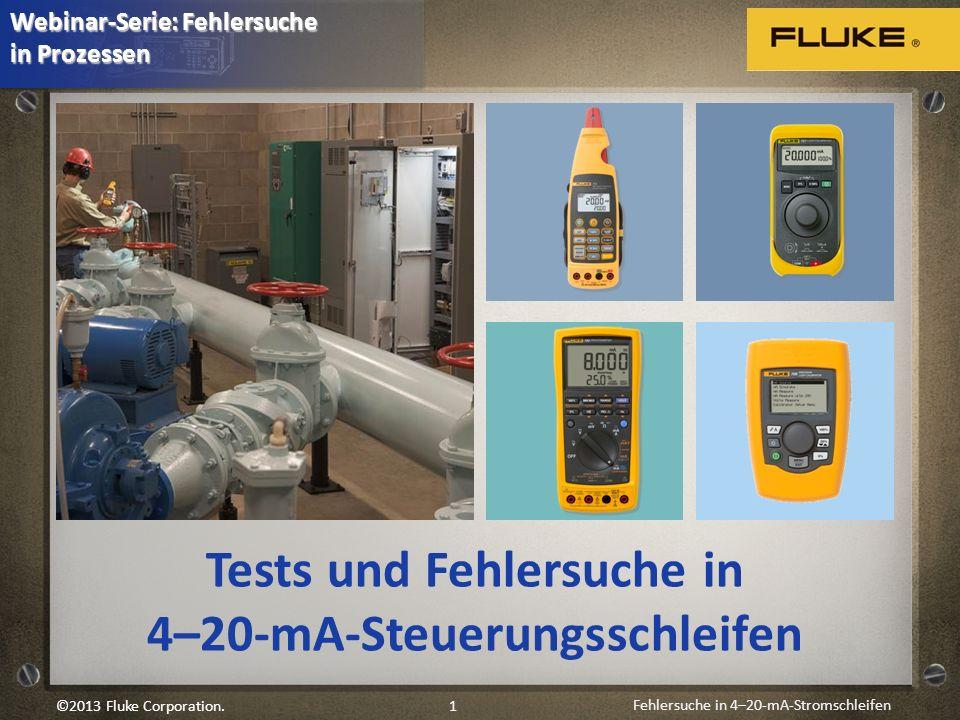 Tests und Fehlersuche in 4–20-mA-Steuerungsschleifen