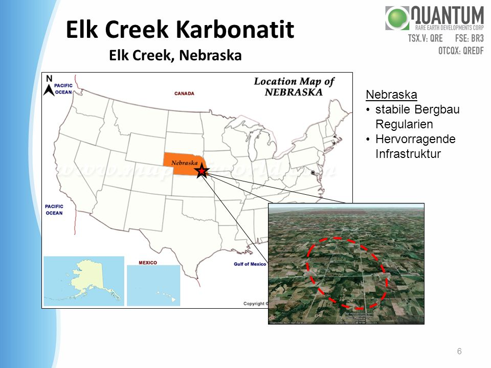 Elk Creek Karbonatit Elk Creek, Nebraska
