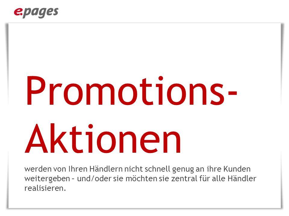 Promotions-Aktionen