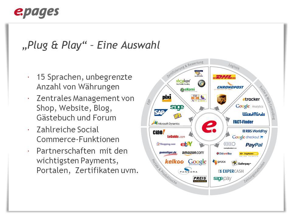 """""""Plug & Play – Eine Auswahl"""