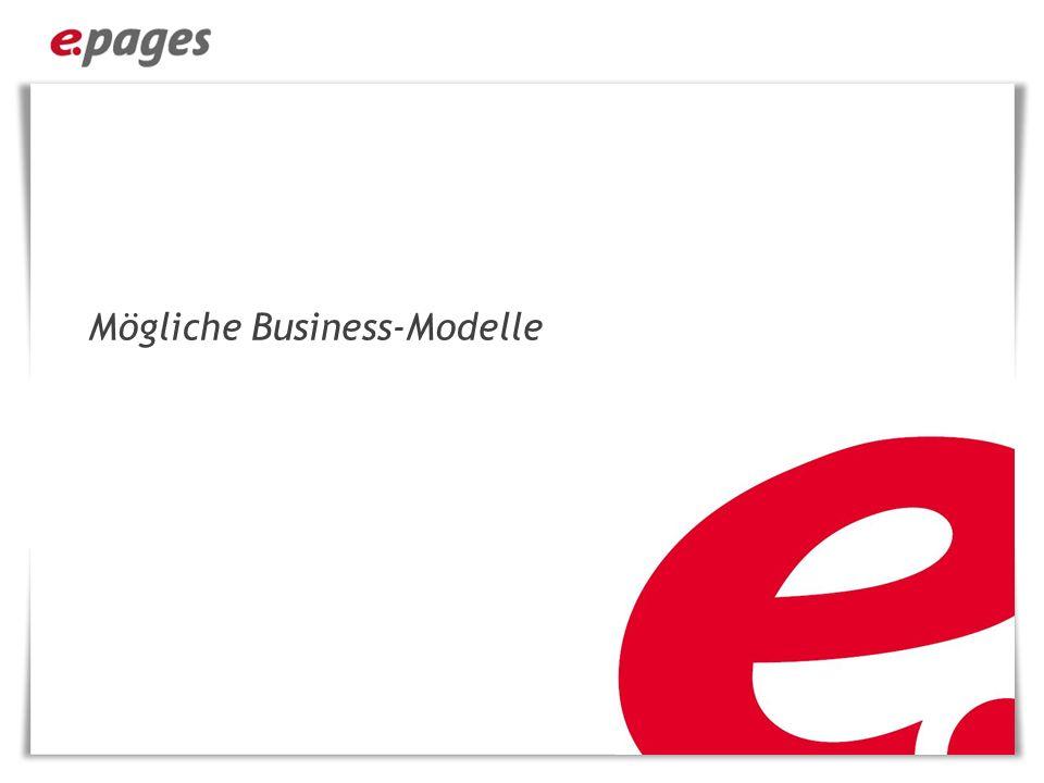 Mögliche Business-Modelle