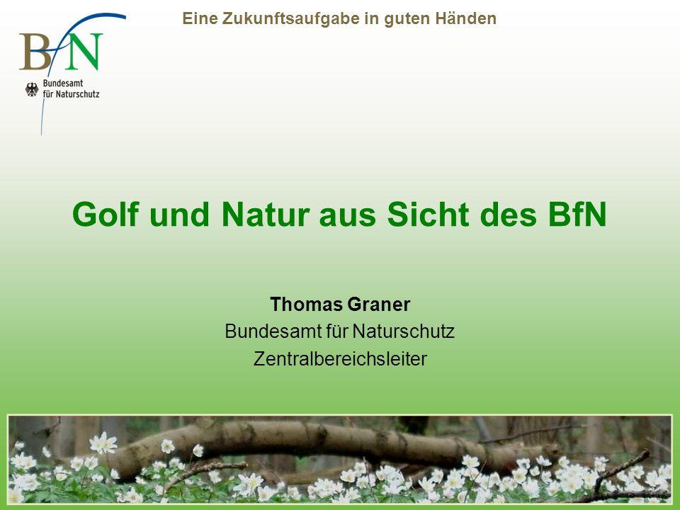 Golf und Natur aus Sicht des BfN