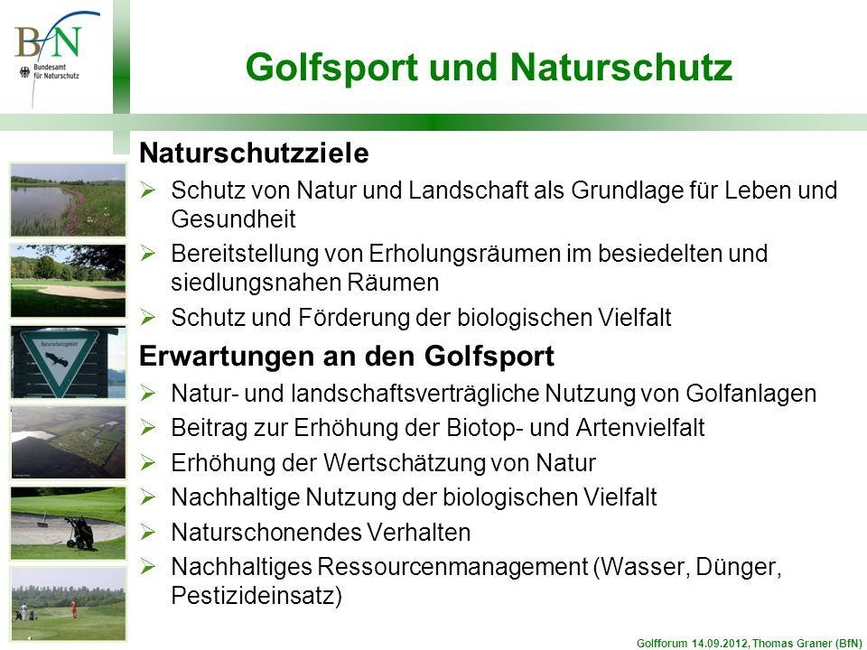Golfsport und Naturschutz