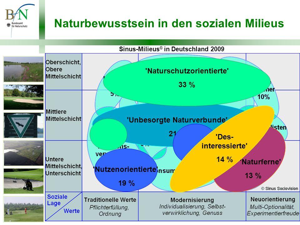 Naturbewusstsein in den sozialen Milieus