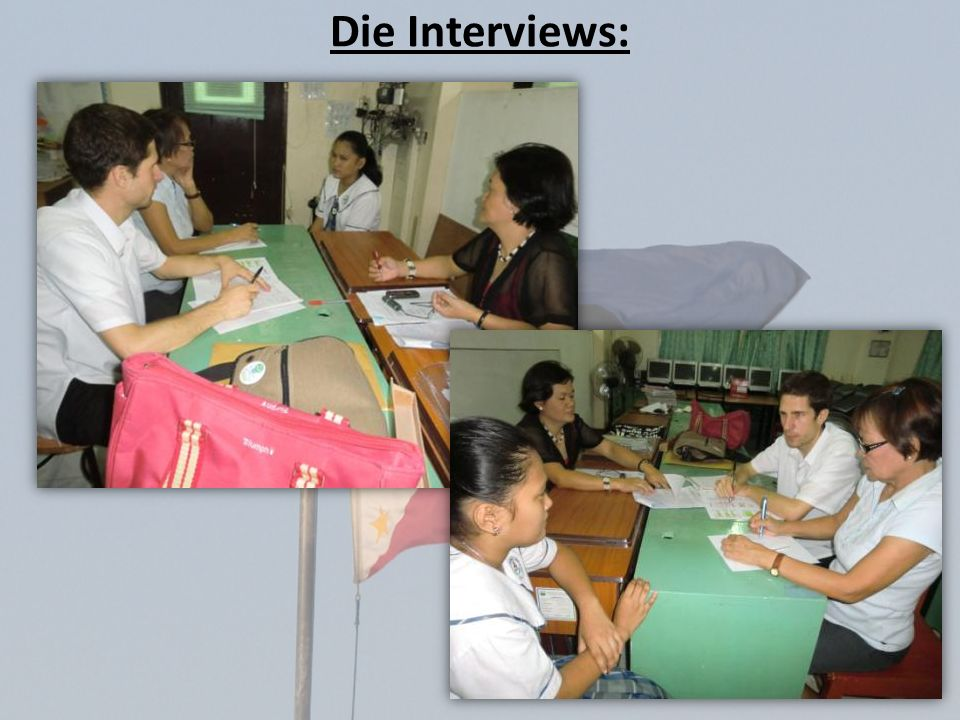 Die Interviews: