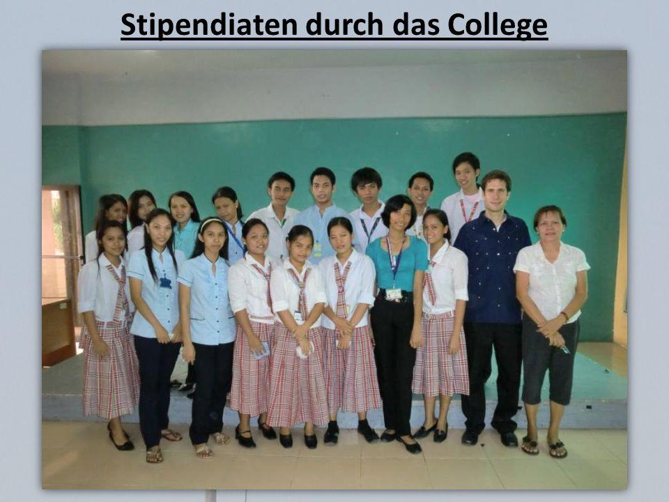 Stipendiaten durch das College